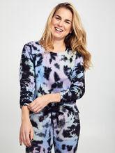 Carolina Tie-Dye Crewneck Sweatshirt, Tie Dye, large
