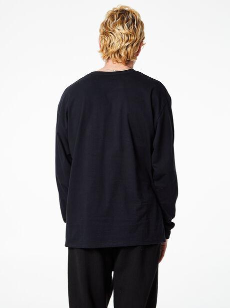 Brady Long Sleeve Black, Black, large image number 4