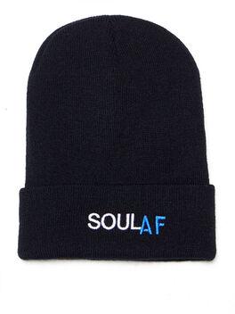 SoulAF® Beanie Black, Black, large