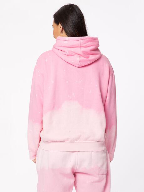 Acid Wash BHH Hoodie Pink, Pink, large image number 3