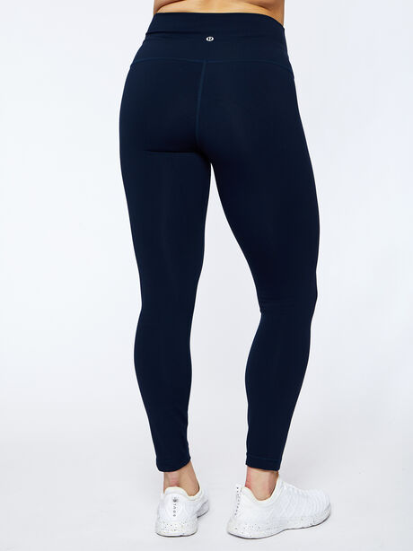 "Wunder Under HR 25"" Tight Navy, True Navy, large image number 2"