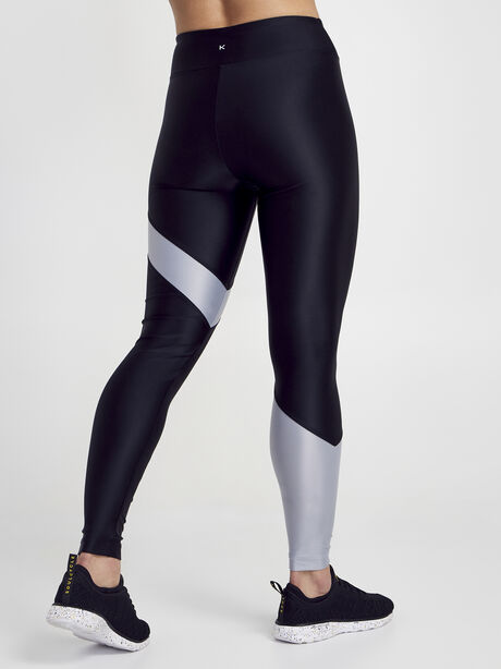 Black/Silver Appeal Energy High Rise Legging, Black/Silver, large image number 3