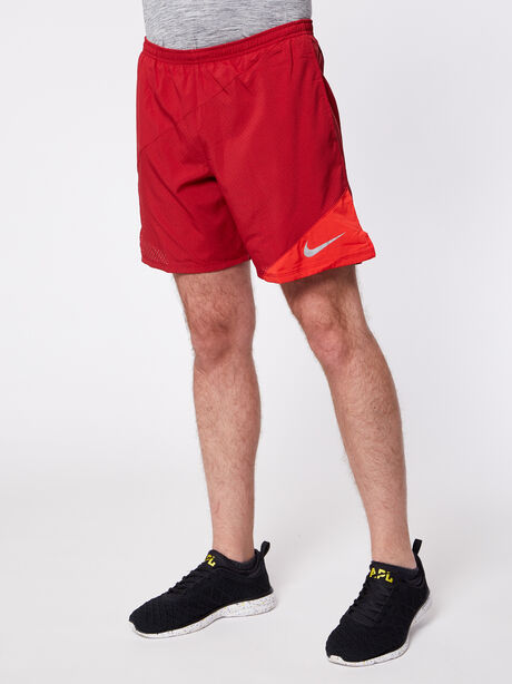Flex 2-in-1 Running Short, Tough Red/University Red, large image number 0