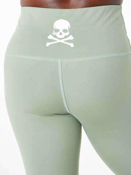 Tulia Mocha Biker Shorts Green, Green, large image number 4