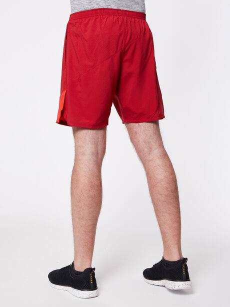 Flex 2-in-1 Running Short, Tough Red/University Red, large image number 1