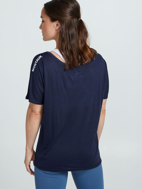 Hamptons Short Sleeve Shirt, True Navy, large image number 1
