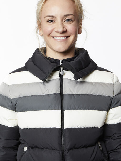 Queenie Jacket, Black/Grey/White, large image number 1