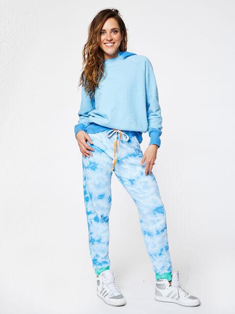 Aloha Tie-Dye Sweatpant Blue, Blue Tied, large image number 4