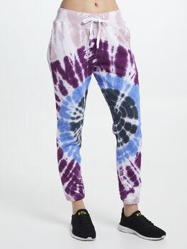 Exclusive Sayde Tie-Dye Sweatpant, Pink, large