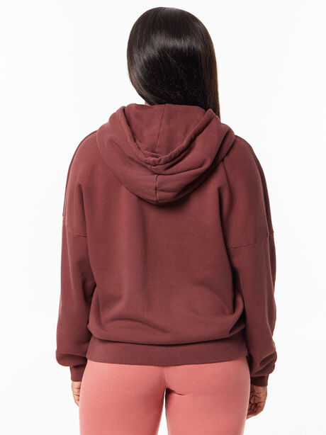 The Whip It Hoodie Brown Stone, Maroon, large image number 2