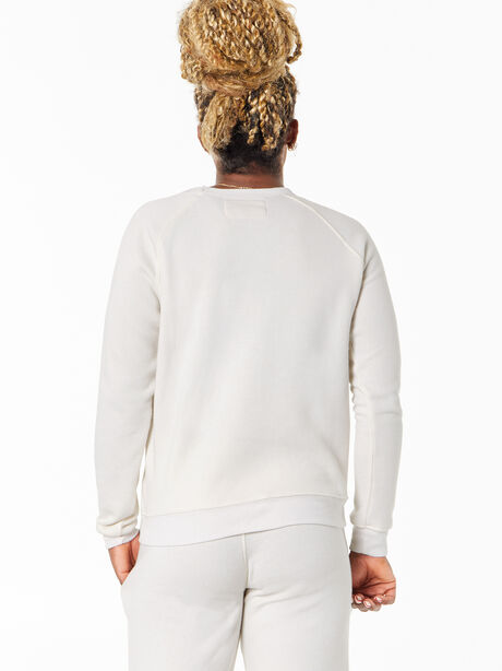 Classic Crew Pullover Natural, Natural, large image number 1