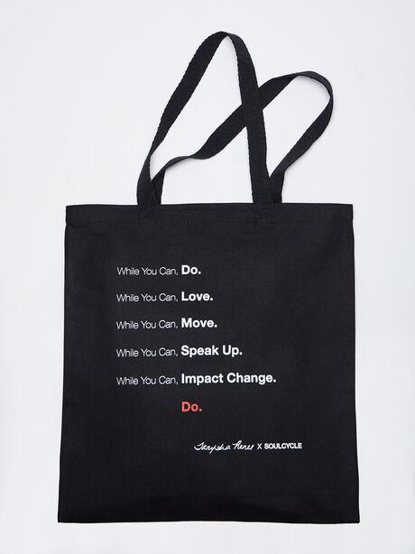 TANYSHA Tote Bag, Black, large image number 0