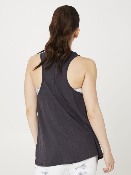 CHARCOAL SOUL TANK, Charcoal, large image number 2