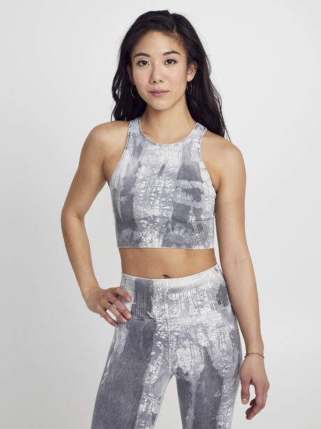 Crackle Gaia Bra, Granite, large image number 0
