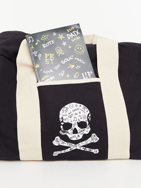 Texas Duffle Bag Black, Black, large image number 5