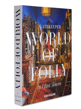 Gatekeeper: World Of Folly Hardcover Book, White, large
