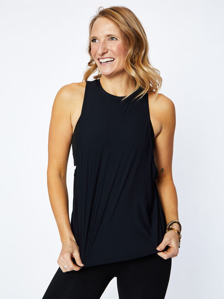 Lafayette Muscle Tank, Black, large image number 0