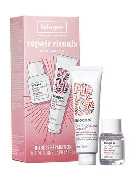 Don't Despair, Repair! Repair Rituals Hair Care Kit, Clear, large
