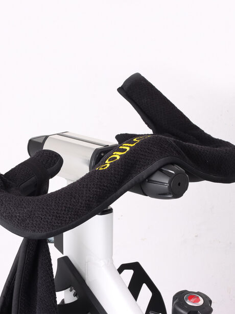 In-Studio Spintowel Sweat Towel Black, Black, large image number 2