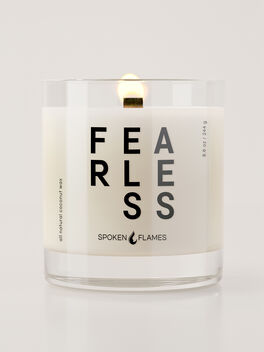 Fearless Candle, Clear, large