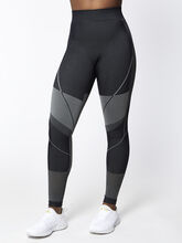Seamless Contour Legging, Black, large