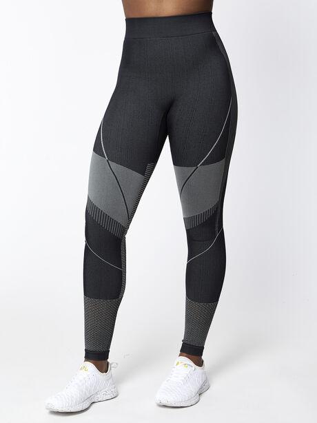 Seamless Contour Legging, Black, large image number 0