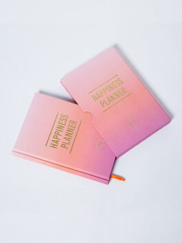 The 100-Day Happiness Planner, Pink, large