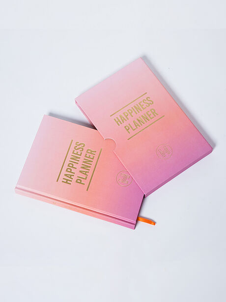 The 100-Day Happiness Planner, Pink, large image number 0