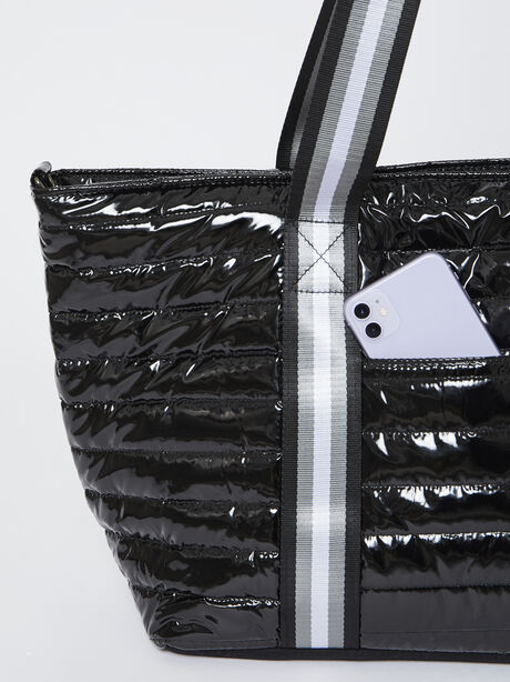 Wingman Bag-Black Patent, Black Patent, large image number 1