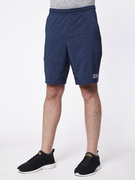 "Pace Breaker Short 9"" Lined, Navy/Black, large"