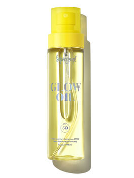 Glow Oil SPF 50, Clear, large