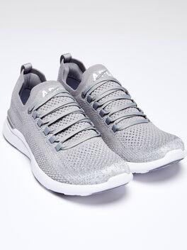 TechLoom Breeze Cement/Metalli, Grey/Silver, large