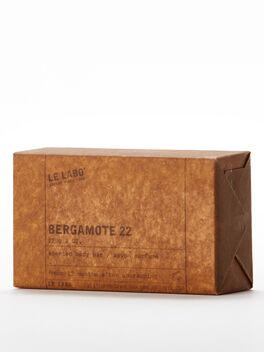 Bergamote Bar Soap, Clear, large