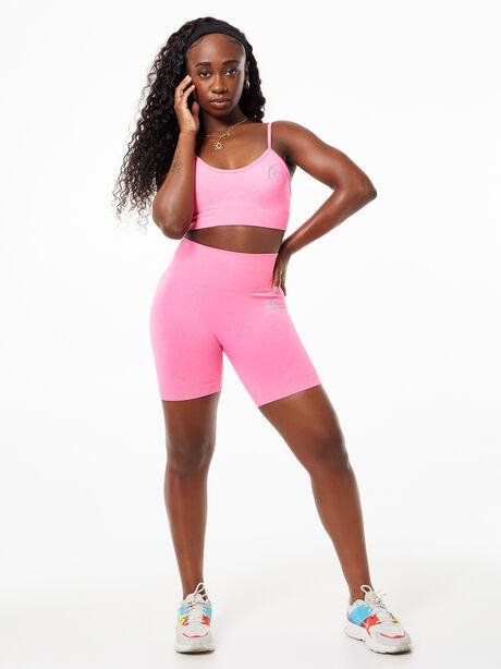 Safiyah Seamless Bra Pink, Pink, large image number 2
