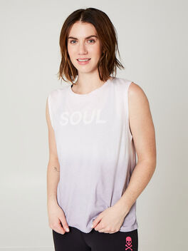 OMBRE SOUL MUSCLE TANK, Pink, large