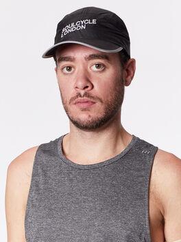 London Hat, Black Camo, large
