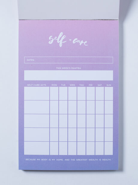 Self-Care Notepad, Pink, large image number 1