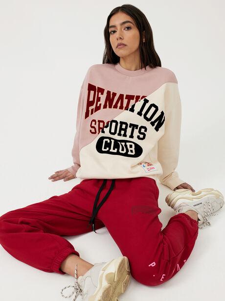 Inning Sweatshirt Misty Rose, White/Pink, large image number 5