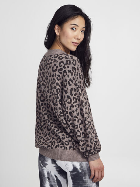 Hermosa Sweater, Leopard, large image number 2