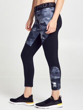 Rebel Camo Leggings 7/8, Camo, large