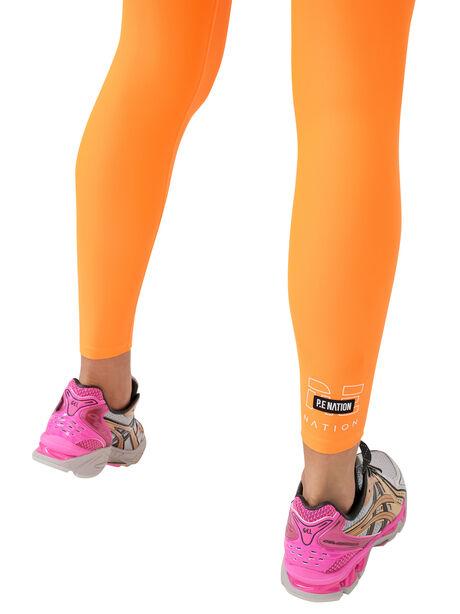 Grand Stand Legging Shocking Orange, Orange, large image number 1