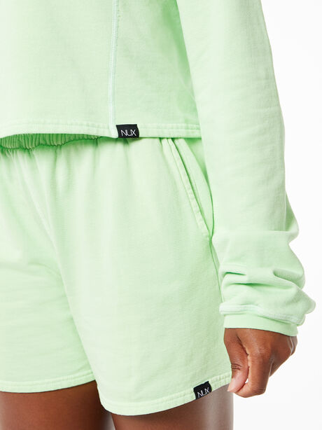 Don't Stop Crop Long Sleeve Misty Mint, Mint, large image number 1