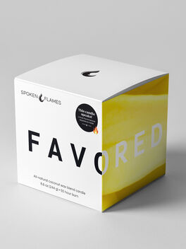 Favored Candle, Clear, large