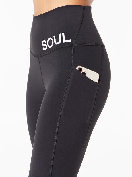 """Align™ Pant With Pockets 25"""" Barn Black, Black, large image number 1"""