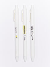 Mind Altering Fitness Pens 3-pack, White, large