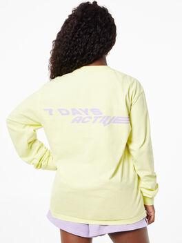 Long Sleeve Tee Charlock, Yellow, large