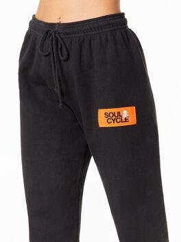 Charlie Sweatpant Grey/Black, Grey/Black, large