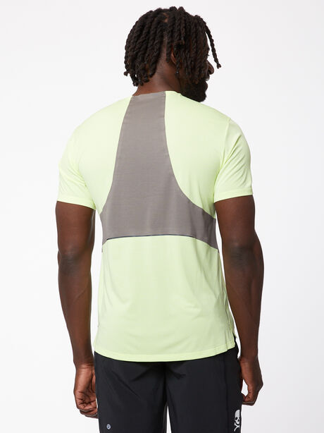 Fast and Free Short Sleeve, Heathered Solar Yellow/Carbon, large image number 1