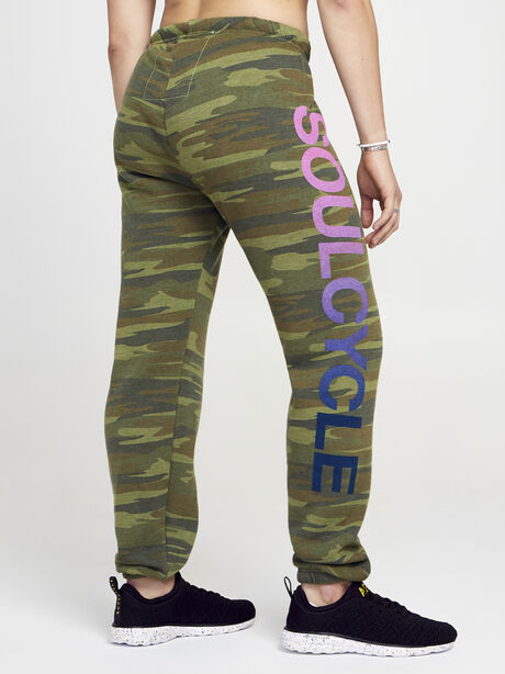 Camo Sweatpant With Pink Soul, Green/Camo, large image number 2