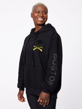 Boston Kingsley Hoodie Black, Black, large